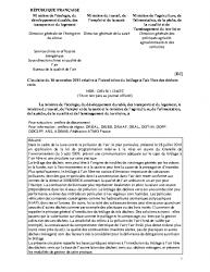 Brûlage à l'air libre des déchets verts – Circulaire du 18 novembre 2011 relative à l'interdiction