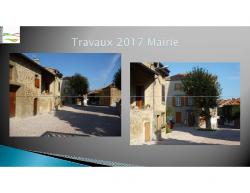 Travaux 2017 de la Mairie
